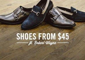 Shop Shoes from $45 ft. Robert Wayne