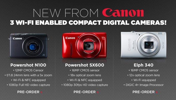 Adorama - Canon New Release