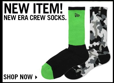 Shop new Era Crew Socks