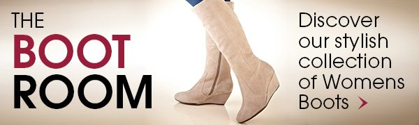 The Boot Room - Discover our stylish collection of Womens Boots