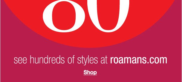 Shop Clearance! Savings up to 80% off!