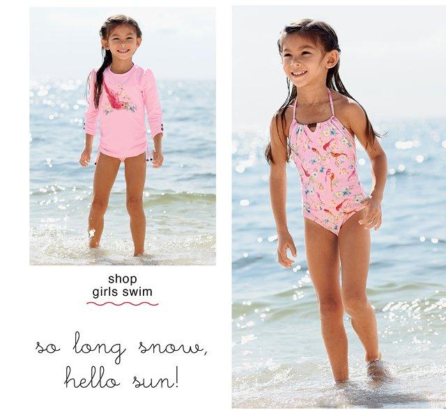 shop girls swim