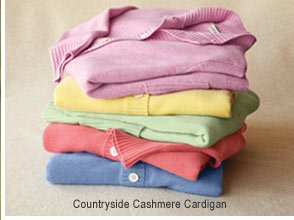Countryside Cashmere Cardigan