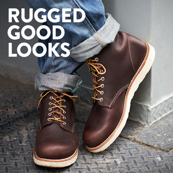 RUGGED GOOD LOOKS