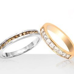 Channel Style Rings from 45$