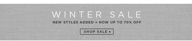 Winter Sale: New Styled Added
