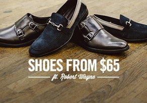 Shop Shoes from $65 ft. Robert Wayne