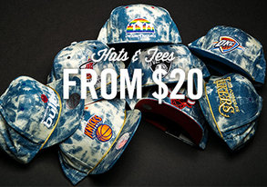 Shop Rep Your Team: Hats & Tees from $20