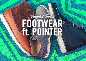 Shop Buyers' Picks: Footwear ft. Pointer