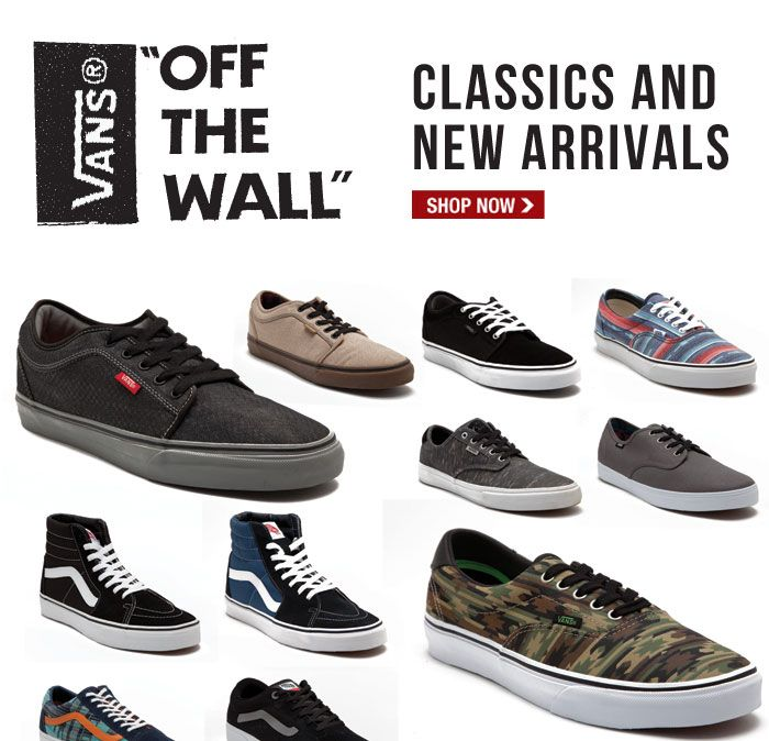 new vans off the wall