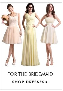 FOR THE BRIDEMAID SHOP DRESSES▶