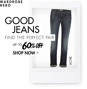 GOOD JEANS - UP TO 60% OFF SHOP NOW