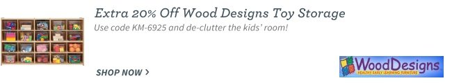 Wood Designs and Contender Toy Storage