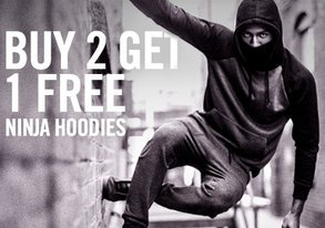 Shop Buy 2 Get 1 Free: Ninja Hoodies
