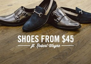 Shop Shoes from $45 ft. Robert Wayne