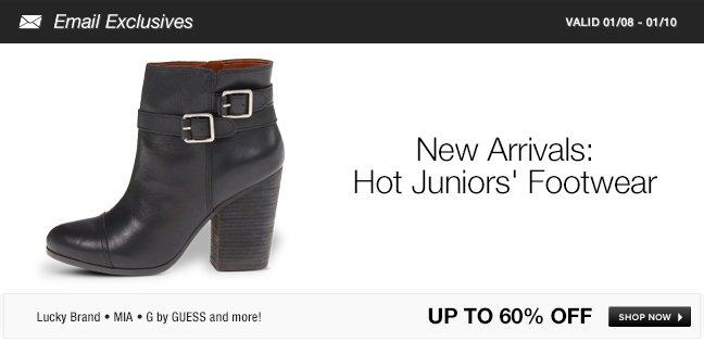 New Arrivals: Flirty Footwear