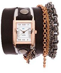 Mechanic Chain Wrap Watch