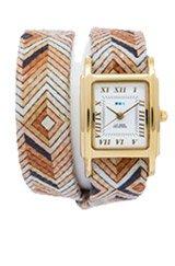 Exclusive Limited Edition Paris Aztec Gold Interchangeable Double Wrap Watch