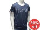 Short-Sleeve Pattern-Cuffed Printed T-Shirt