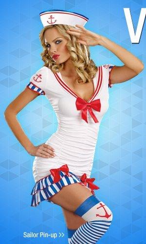 Shop Sailor Pin-up