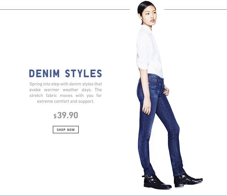 Spring Denim Styles