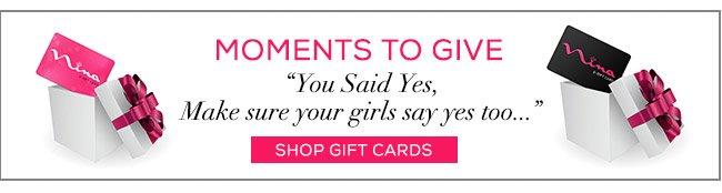 Nina Gift Cards