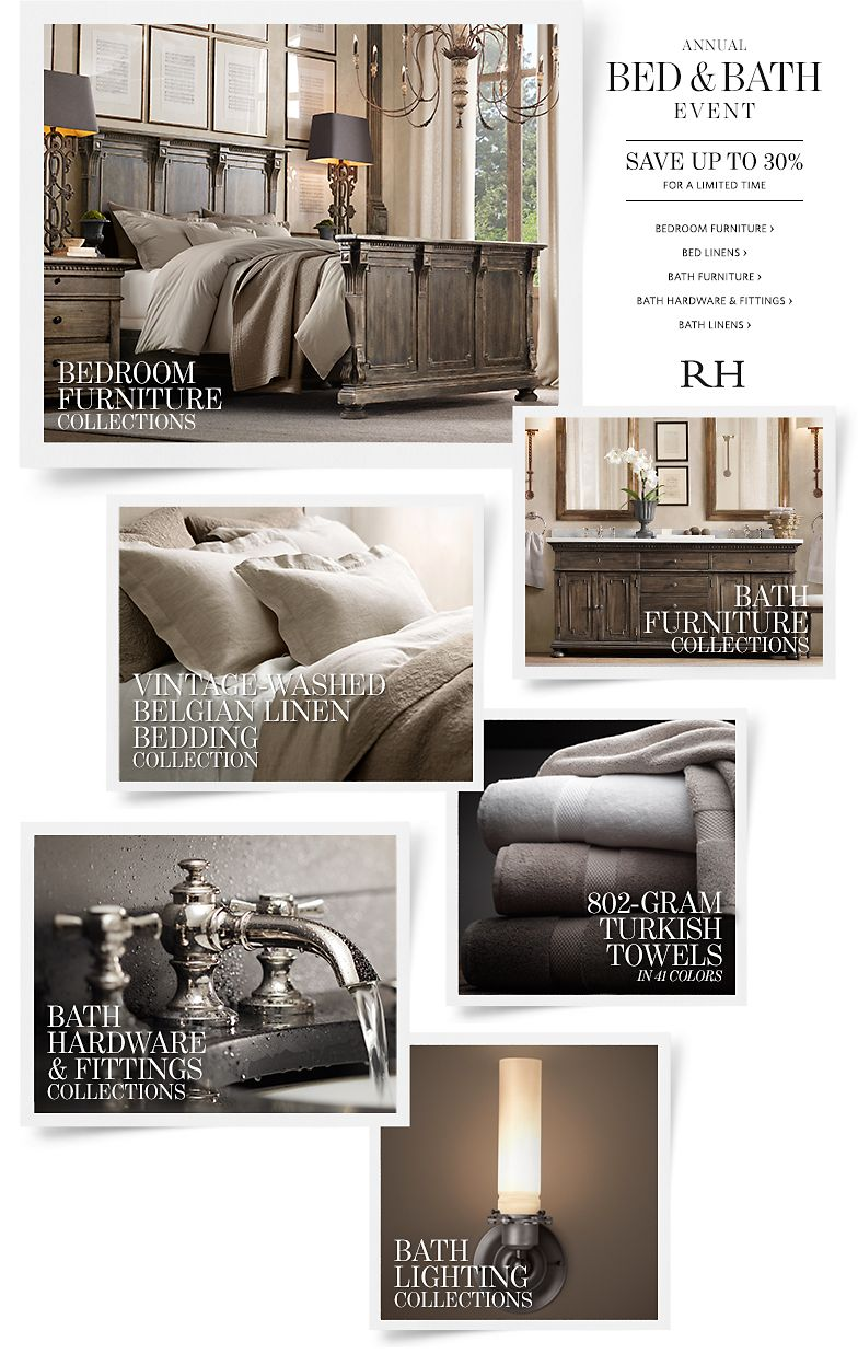 Annual Bed and Bath Event - Save up to 30%