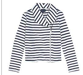 Vista Stripe Moto Jacket