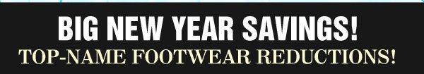 New Year Footwear Savings!