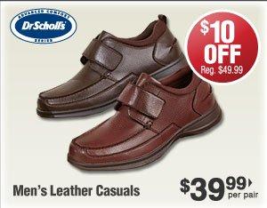 Leather Casuals $39.99 per pair
