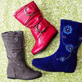 Make Strides: Girls' Boots