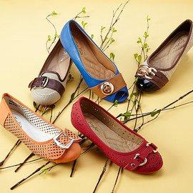 Fancy Footwork: Women's Flats