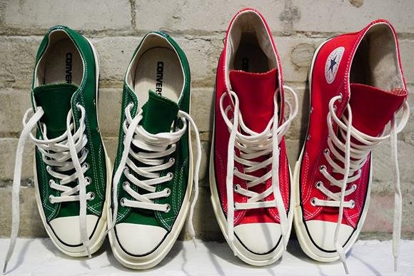 "Converse First String CT 1970′s ""Holiday Pack"""