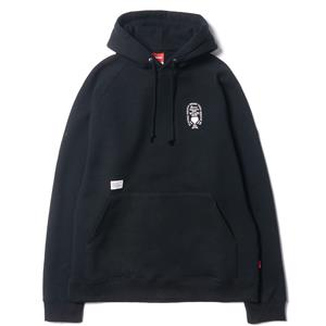 WTaps Heraldry Sweat Hooded / Knit Black