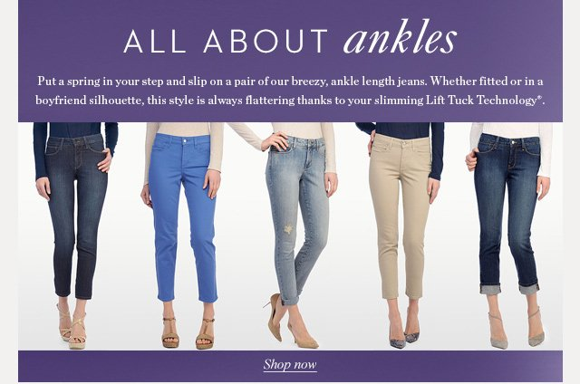 All About Ankles
