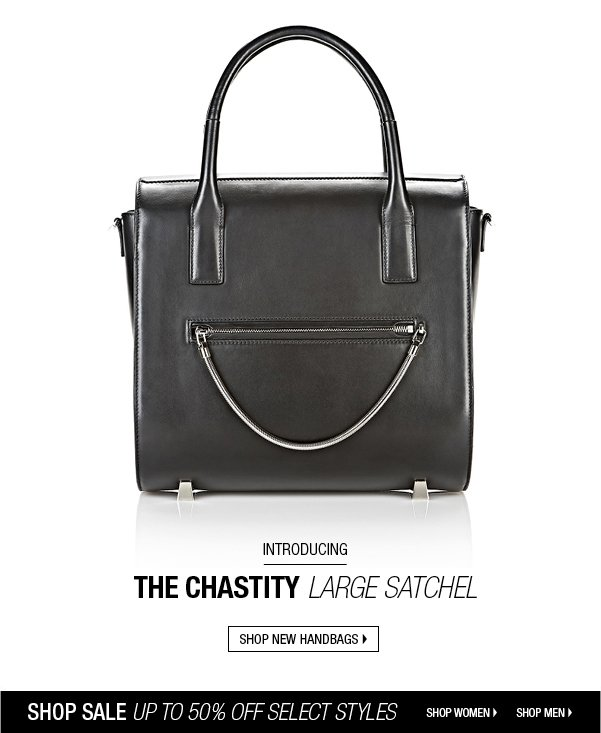 INTRODUCING THE CHASTITY LARGE SATCHEL