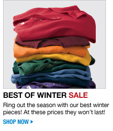 best of winter sale - shop now
