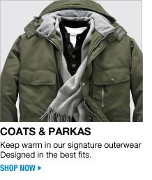 coats and parkas - shop now