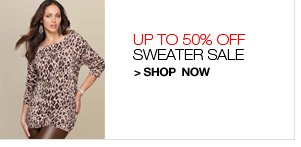 Sweater Sale, Up to 50% Off