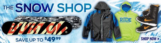 Save On 2014 Snow Packages!