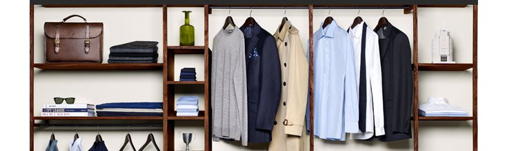 The Essentials: The everyday staples no man should be without. Shop now