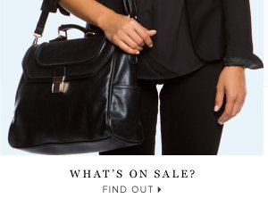 What's On Sale? - - Find Out: