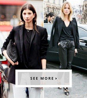 13 Shockingly Easy Ways To Reinvent Your Black Blazer