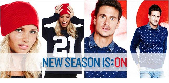 New Season Is:ON