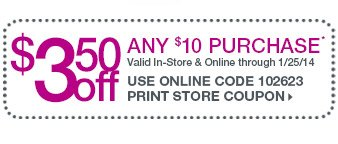 $3.50 Off $10 Purchase > Shop Now