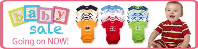Baby Sale Going on Now