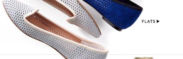 Perforation detail scores serious style points. Shop Flats