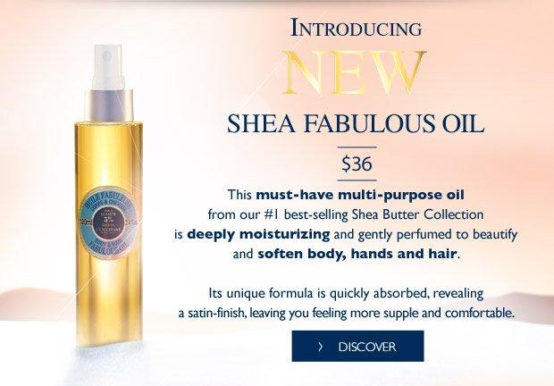Shea Fabulous Oil