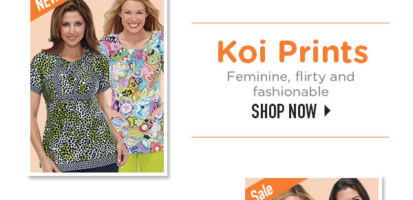 Koi Prints Feminine, flirty and fashionable - Shop Now
