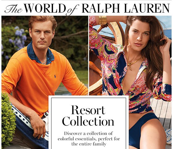 The world of RALPH LAUREN